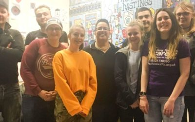 Young Adult Carers take on The Gauntlet challenge