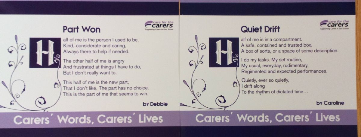 carers words project photo