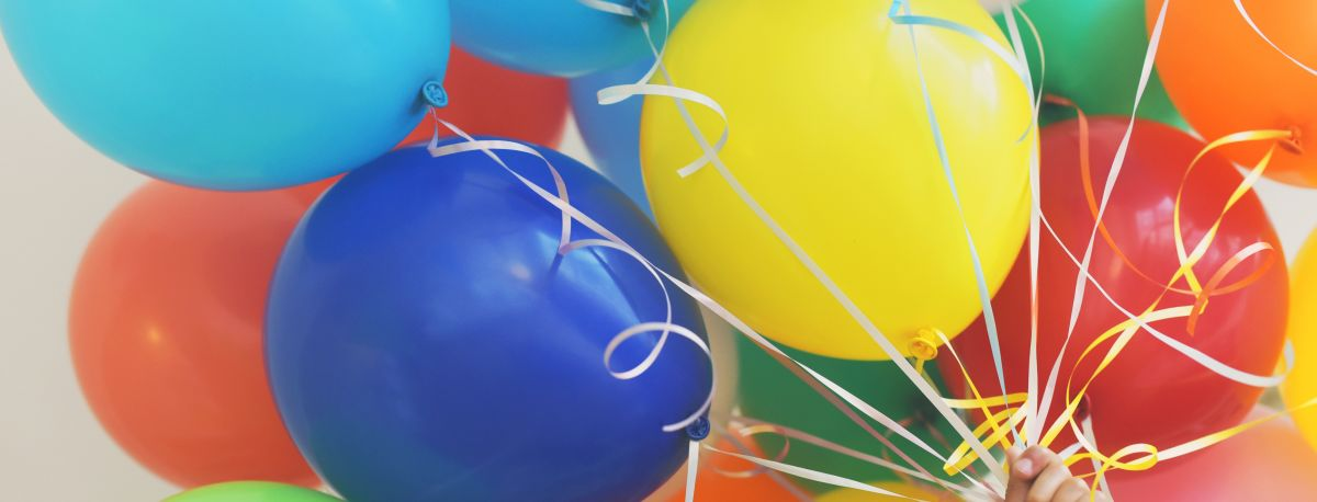 photo of party balloons