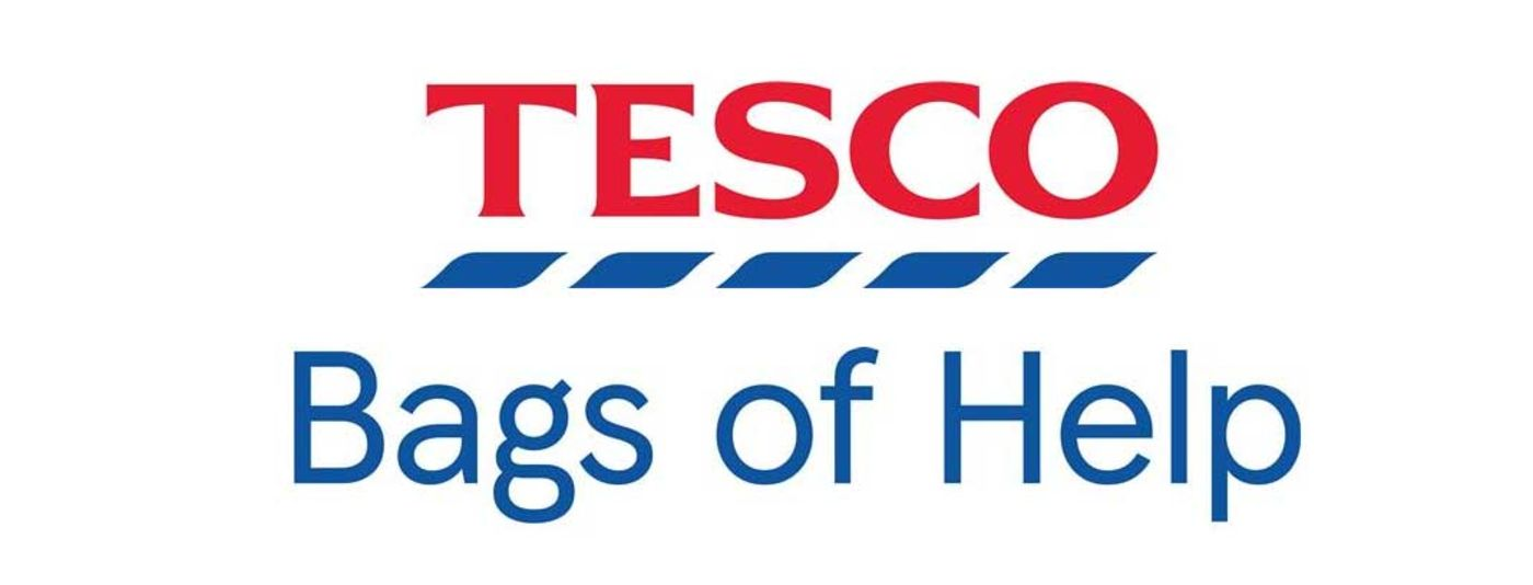 tesco 'bags of help' banner image