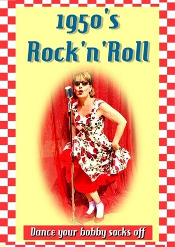 1950's Rock & Roll Banner