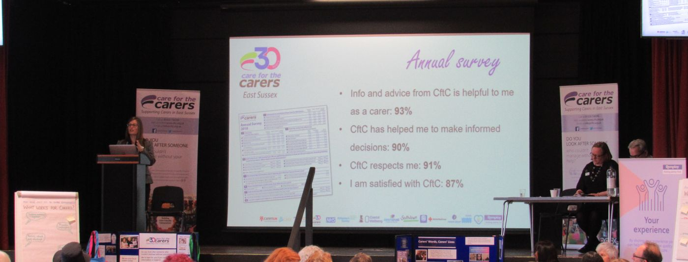 photo of carers annual survey meeting
