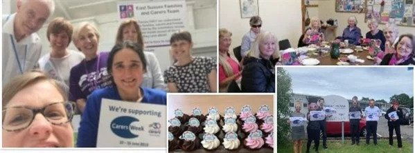 gallery image of carers celebrating carer week