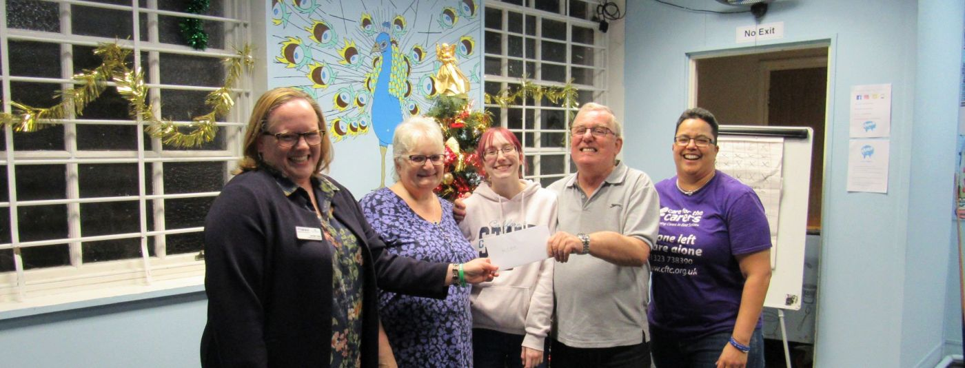 Hastings Grandparents Win Care for the Carers £1000 Grand Raffle Star Prize