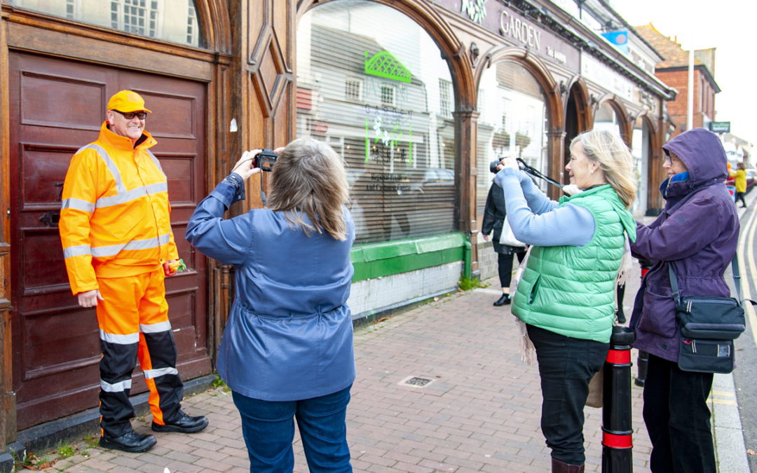 Photography workshops for East Sussex carers