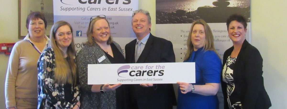 photo of solicitor from Heringtons with Care for the Carers staff