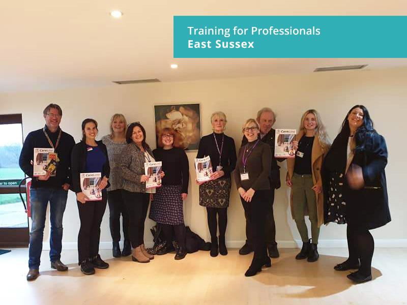Carer Awareness training East Sussex
