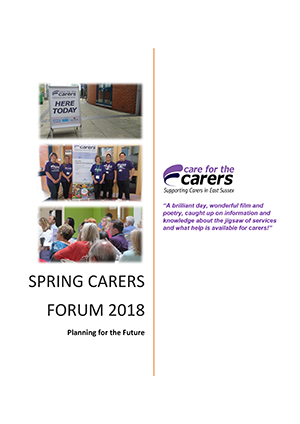 Download our Carers Forum Report February 2019