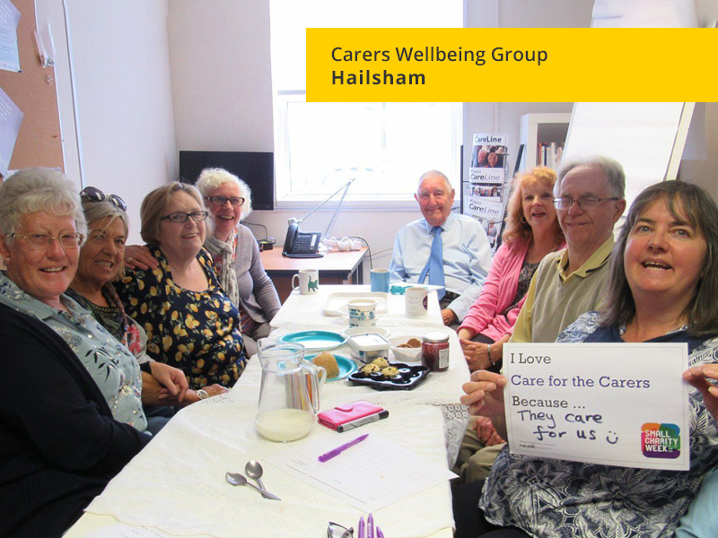 Carers Wellbeing Group, Hailsham