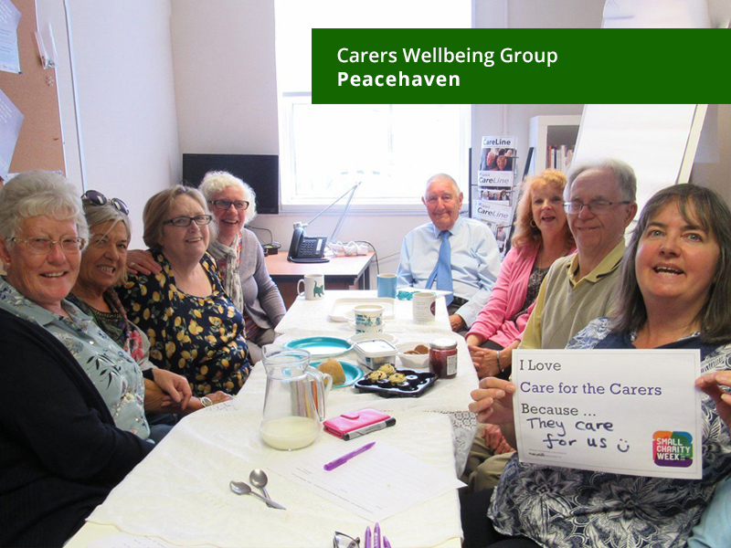Carers Wellbeing Group, Peacehaven