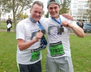 Challenge run fundraising