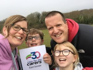Jo Egan Fundraising Care for the Carers