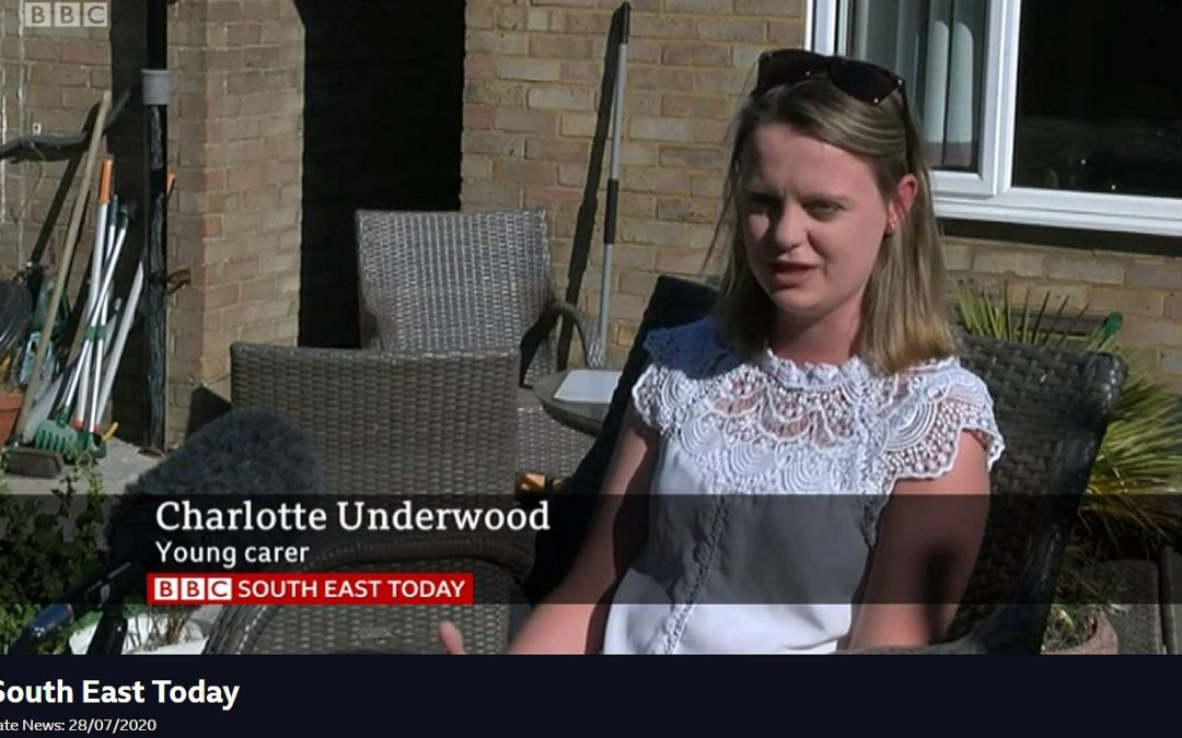 Young Adult Carers share their thoughts on BBC News South East