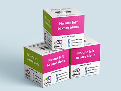 Care for the Carers Donation Boxes