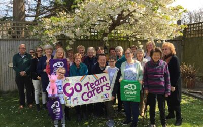 Soroptimists walk 500 miles for carers in East Sussex