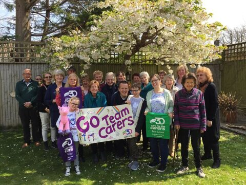 Soroptimists Eastbourne fundraise for Care for the Carers