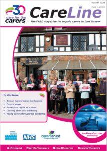 Care for the Carers CareLine Magazine Autumn 2020