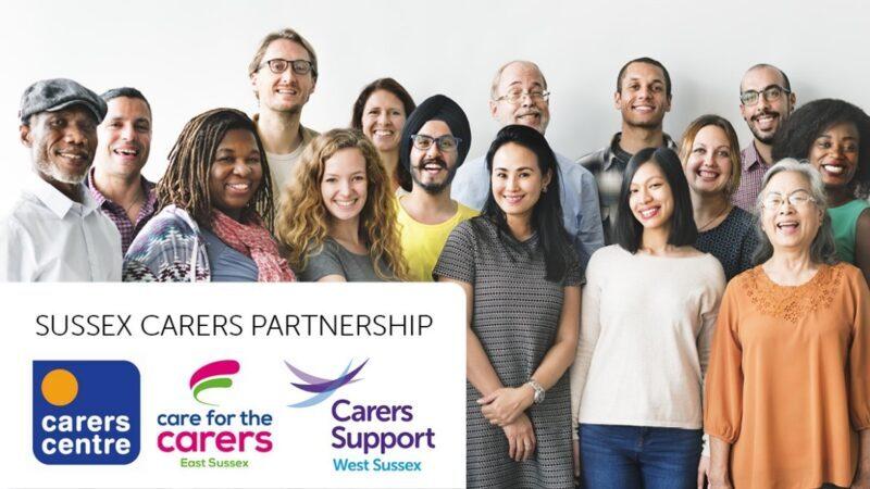 Sussex Carers Partnership logos