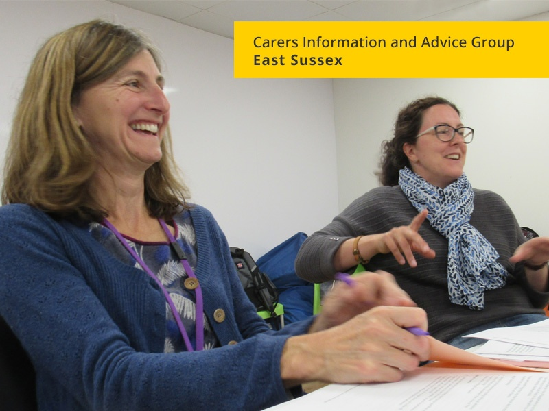 Carers Information and Advice Group East Sussex