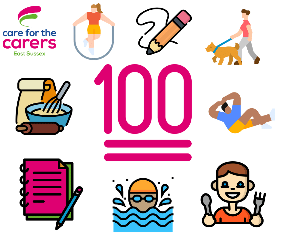 100 challenge for carers