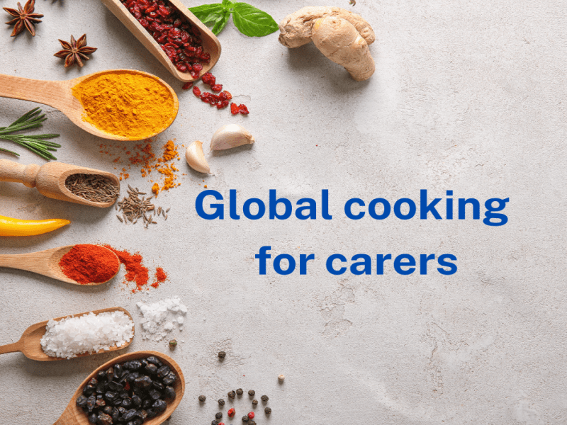 Global cooking course for carers East Sussex