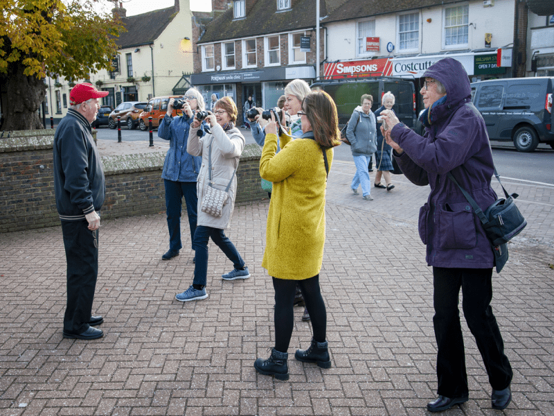 Photography workshop carers East Sussex